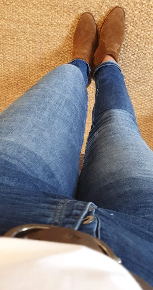 Jeans taille normale slim